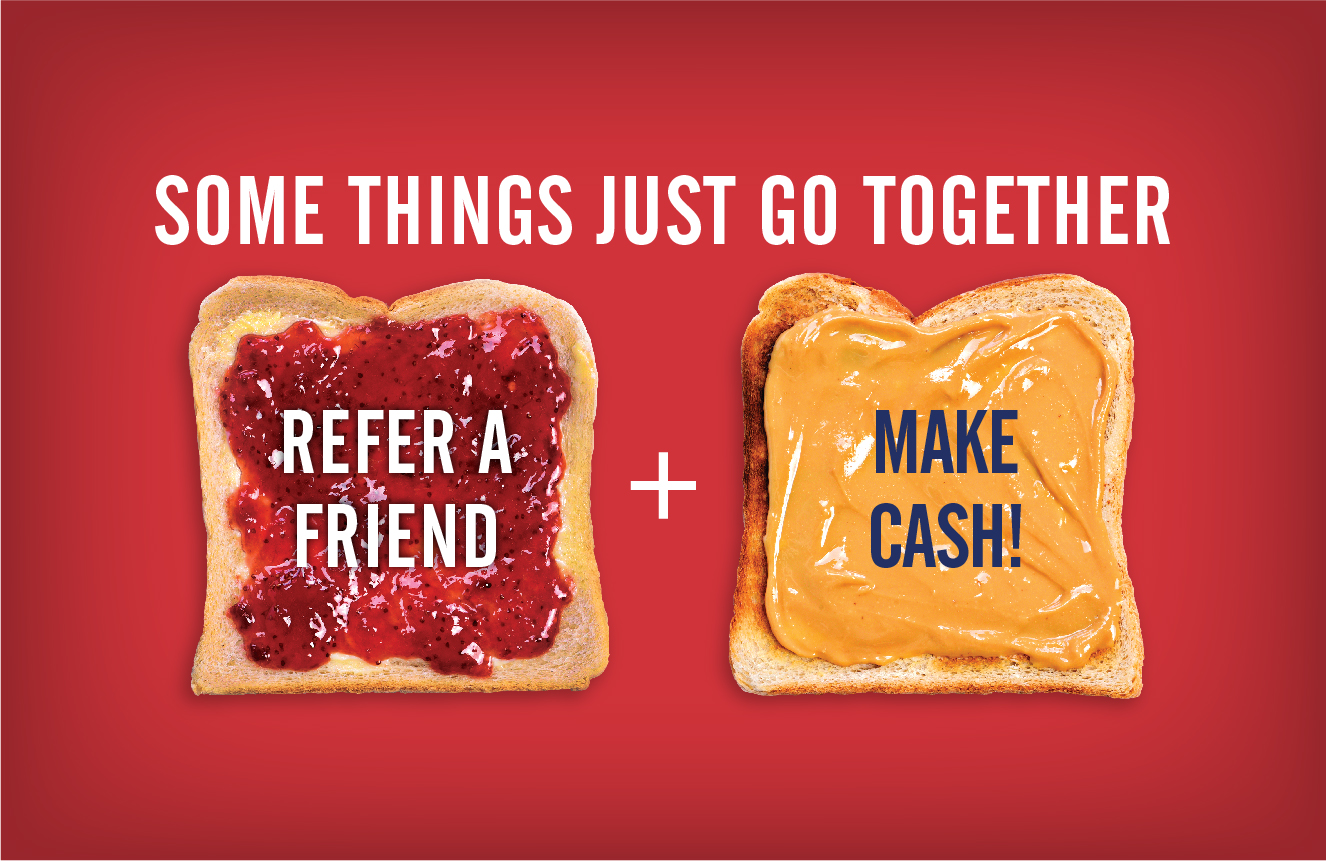 peanut butter and jelly refer a friend image
