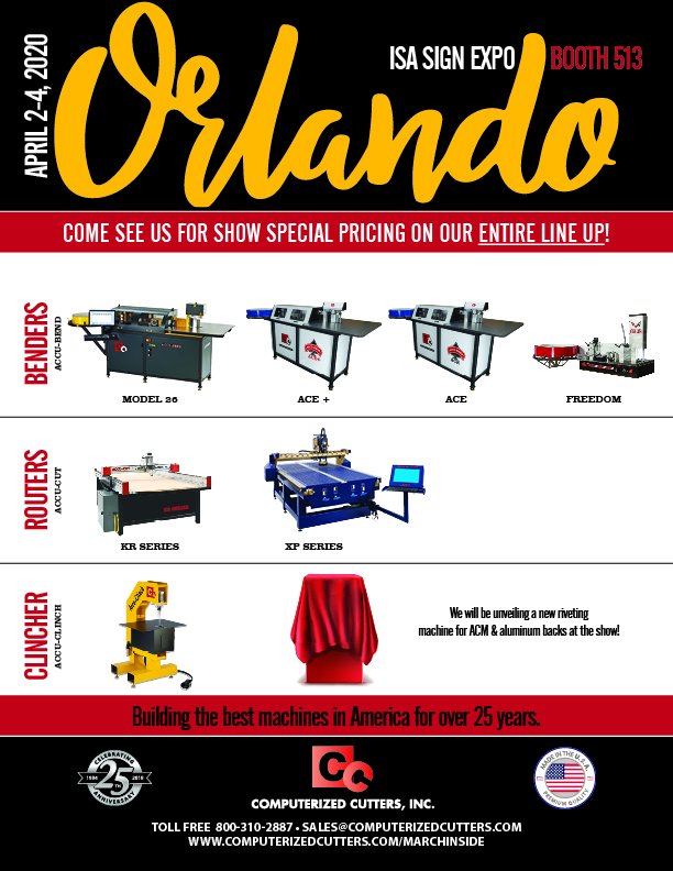 ISA Orlando Show Computerized Cutters